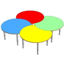 Стол-трансформер Ромашка, для детского сада