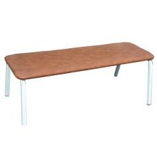 Скамья для школьного гардероба, мягкая 150х40х44