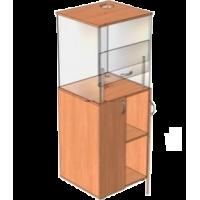 Шкаф вытяжной для кабинета химии прозрачный