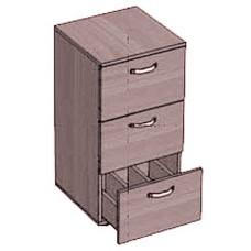 Шкаф каталожный 3 ящика