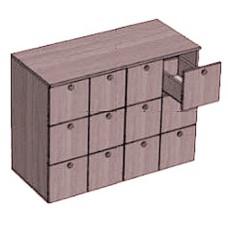 Шкаф каталожный 12 ящиков