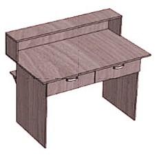 Стол-кафедра с 2 ящиками