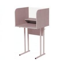 Парта-стол для лингафонного кабинета школьная, одноместная