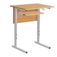 Парта-стол компьютерный для школы 1-местный