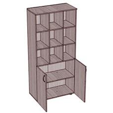 Шкаф с большими ячейками и 2 дверками