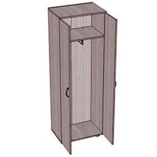 Шкаф для одежды узкий SHO-1
