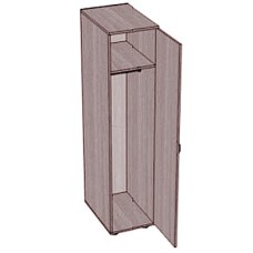 Шкаф-пенал для одежды SHO-3