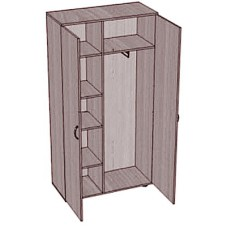 Шкаф для одежды SHO-5