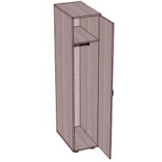 Шкаф-пенал для одежды SHO-7