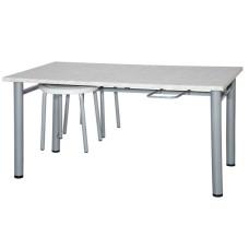 Обеденная зона для школьной столовой, 6-местная (стол +6 табуретов)