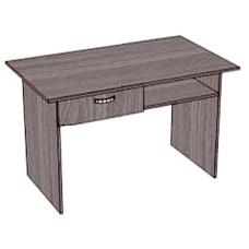 Стол с 1 ящиком и нишей