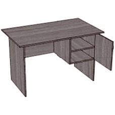 Стол, 1 тумба с 2 полками