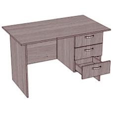 Стол, 1 тумба с 3 ящиками