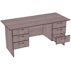 Стол письменный двухтумбовый с 6 ящиками
