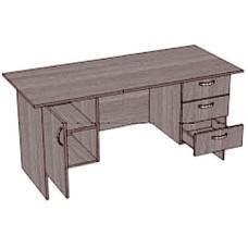 Стол письменный, 2 тумбы с 3 ящиками
