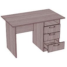 Стол, 3 ящика, 1 ниша