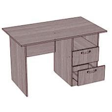 Стол письменный, 2 ящика, 1 ниша